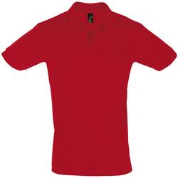 Textil Muži Polo s krátkými rukávy Sols PERFECT COLORS MEN Rojo