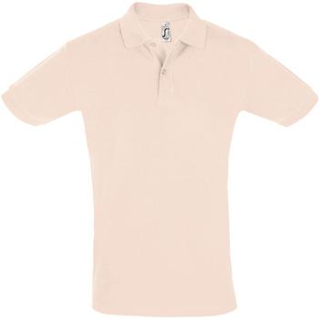 Textil Muži Polo s krátkými rukávy Sols PERFECT COLORS MEN Rosa