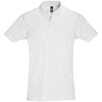 Textil Muži Polo s krátkými rukávy Sols PERFECT COLORS MEN Gris