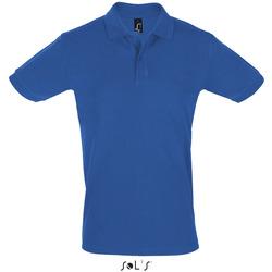 Textil Muži Polo s krátkými rukávy Sols PERFECT COLORS MEN Azul