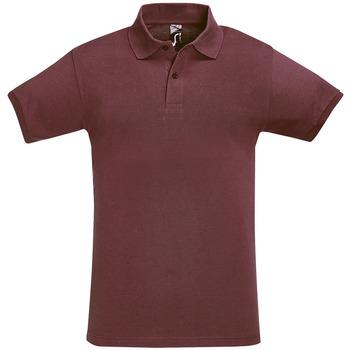 Textil Muži Polo s krátkými rukávy Sols PERFECT COLORS MEN Violeta