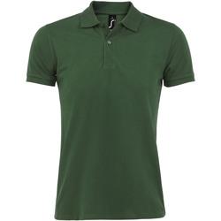 Textil Muži Polo s krátkými rukávy Sols PERFECT COLORS MEN Verde