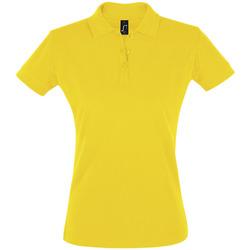 Textil Ženy Polo s krátkými rukávy Sols PERFECT COLORS WOMEN Amarillo