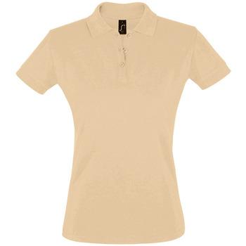 Textil Ženy Polo s krátkými rukávy Sols PERFECT COLORS WOMEN Marr?n
