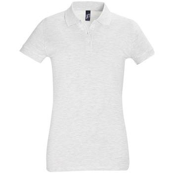Textil Ženy Polo s krátkými rukávy Sols PERFECT COLORS WOMEN Gris