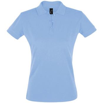 Textil Ženy Polo s krátkými rukávy Sols PERFECT COLORS WOMEN Azul