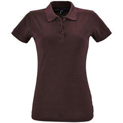 Textil Ženy Polo s krátkými rukávy Sols PERFECT COLORS WOMEN Violeta