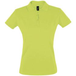 Textil Ženy Polo s krátkými rukávy Sols PERFECT COLORS WOMEN Verde