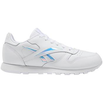 Boty Děti Nízké tenisky Reebok Sport Classic leather Bílá