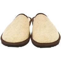 Boty Muži Papuče Bins Pánske béžové papuče JAROSLAV béžová