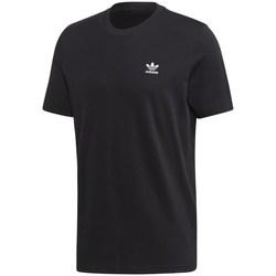 Textil Muži Trička s krátkým rukávem adidas Originals Trefoil Essentials Tee Černé