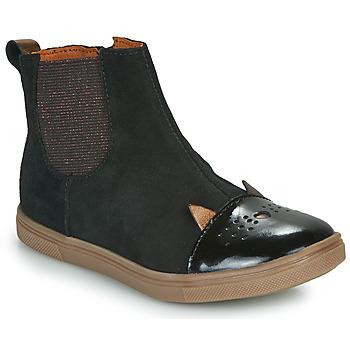Boty Dívčí Kotníkové boty GBB JESSINE Černá