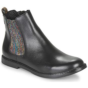 Boty Dívčí Kotníkové boty GBB ARANA Černá