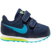 Boty Chlapecké Běžecké / Krosové boty Nike MD Runner 2 Tmavomodré