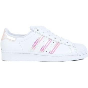 Boty Děti Nízké tenisky adidas Originals Superstar J Bílé
