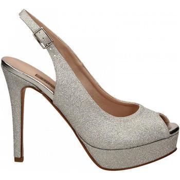 Boty Ženy Sandály Albano MESH argento