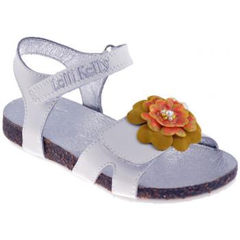 Boty Dívčí Sandály Lelli Kelly  Bílá