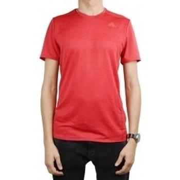 Textil Muži Trička s krátkým rukávem adidas Originals Supernova Short Sleeve Tee M červená