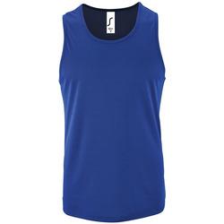 Textil Muži Tílka / Trička bez rukávů  Sols SPORT TT MEN Azul