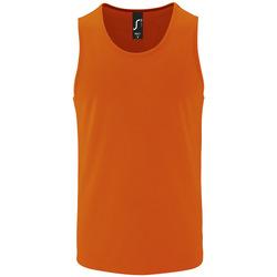 Textil Muži Tílka / Trička bez rukávů  Sols SPORT TT MEN Naranja