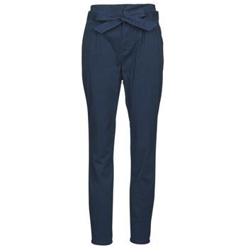 Textil Ženy Kapsáčové kalhoty Vero Moda VMEVA Tmavě modrá