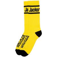 Textilní doplňky Muži Ponožky Jacker After logo socks Žlutá