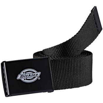 Textilní doplňky Muži Pásky Dickies Orcutt  webbing belt Černá