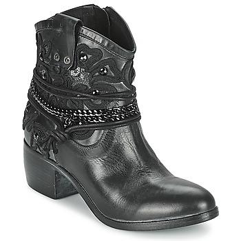 Boty Ženy Kotníkové boty Mimmu KAL Černá