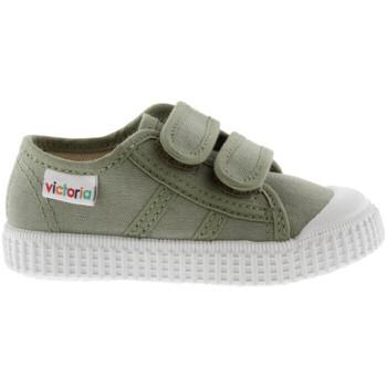 Boty Děti Nízké tenisky Victoria 136606 Zelená