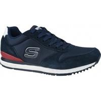 Boty Muži Multifunkční sportovní obuv Skechers Sunlite-Waltan modrá