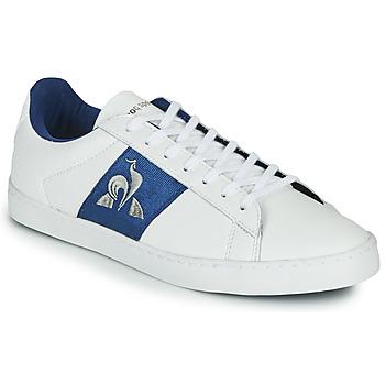 Boty Ženy Nízké tenisky Le Coq Sportif ELSA Bílá / Modrá