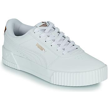 Boty Ženy Nízké tenisky Puma CARINA Bílá