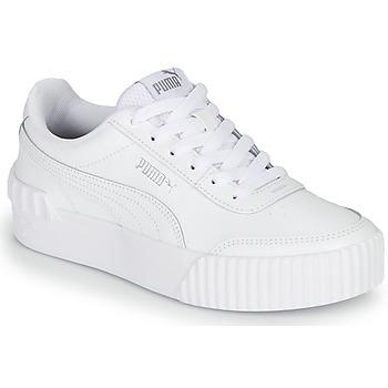Boty Ženy Nízké tenisky Puma CARINA LIFT Bílá