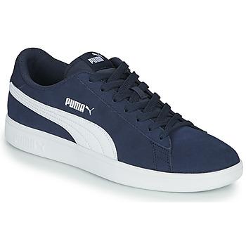 Boty Muži Nízké tenisky Puma SMASH Tmavě modrá