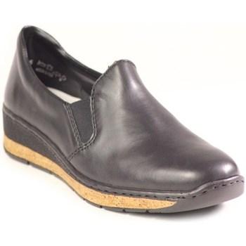 Boty Ženy Mokasíny Rieker 5976600 Černé