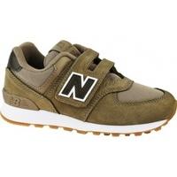 Boty Děti Multifunkční sportovní obuv New Balance YV574PRB hnědá