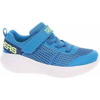 Boty Nízké tenisky Skechers Go Run Fast - Tharo blue-lime Modrá