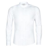 Textil Muži Košile s dlouhymi rukávy Casual Attitude MASS Bílá