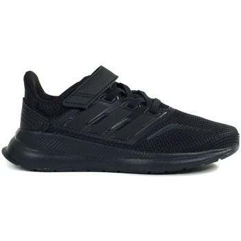 Boty Děti Běžecké / Krosové boty adidas Originals Runfalcon C Černé