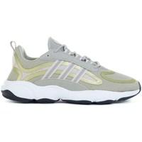 Boty Děti Běžecké / Krosové boty adidas Originals Haiwee J Zelené, Žluté