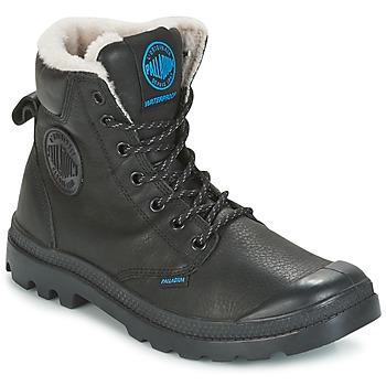 Boty Kotníkové boty Palladium PAMPA SPORT WPS Černá