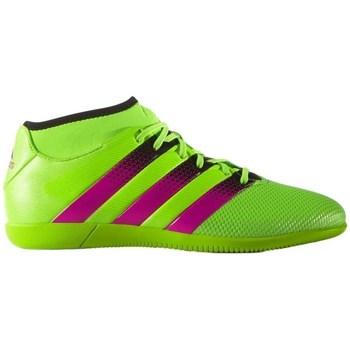 Boty Muži Fotbal adidas Originals Ace 163 Primemesh IN Černé, Zelené, Růžové