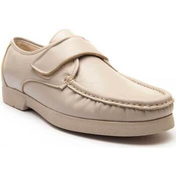 Boty Muži Šněrovací polobotky  & Šněrovací společenská obuv Keelan 63206 BEIGE