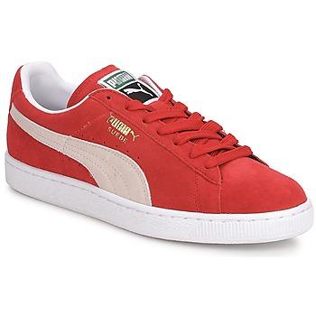 Puma Tenisky SUEDE CLASSIC + - Červená