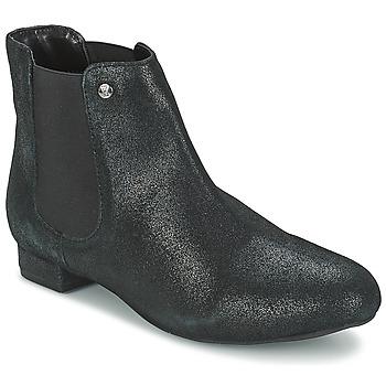 Boty Ženy Kotníkové boty Elle MABILLON Černá / Třpytivá