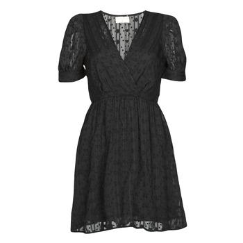 Textil Ženy Krátké šaty Moony Mood ACTINE Černá