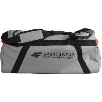 Taška Sportovní tašky 4F Travel Bag šedá
