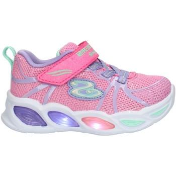 Boty Děti Nízké tenisky Skechers 302042 Růžová