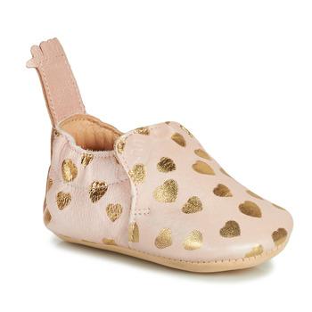 Boty Děti Papuče Easy Peasy BLUMOO Růžová