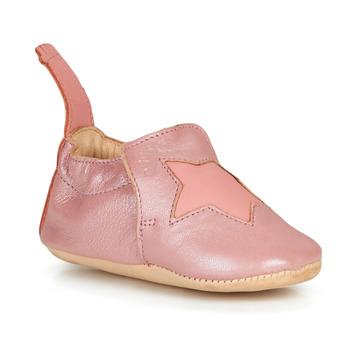 Boty Dívčí Papuče Easy Peasy BLUMOO ETOILE Růžová